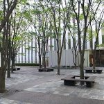 【赤坂見附駅】プルデンシャルタワー イーストレジデンスプラザ前の休憩場所