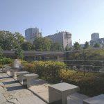 【赤坂見附駅】東京ガーデンテラス3F 空の広場の休憩場所