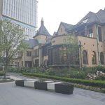 【赤坂見附駅】東京ガーデンテラス 赤坂プリンス クラシックハウス前の休憩場所