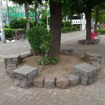 【浅草駅】花川戸公園の休憩場所