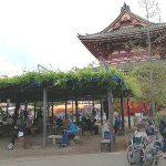 【浅草駅】浅草寺境内 東側広場の休憩場所