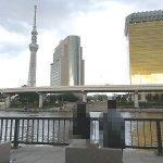 【浅草駅】隅田川テラスの休憩場所
