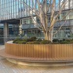 【日比谷駅】東京ミッドタウン日比谷 ステップ広場の休憩場所
