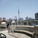 【蔵前駅】厩橋 (うまやばし)の休憩場所