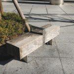 【品川駅】品川フロントビル 1F入口付近の休憩場所