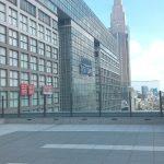 【新宿駅】NEWoMan6F 屋外テラスの休憩場所