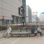 【立川駅】立川北駅前 ペデストリアンデッキ
