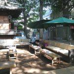【戸越駅】戸越八幡神社の休憩場所