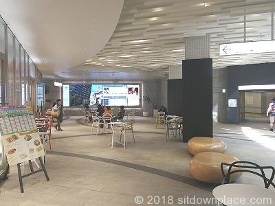東京ガーデンテラス紀尾井プラザの休憩場所