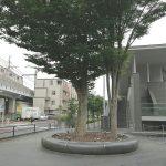【二子玉川駅】ライズ バーズモール前の休憩場所