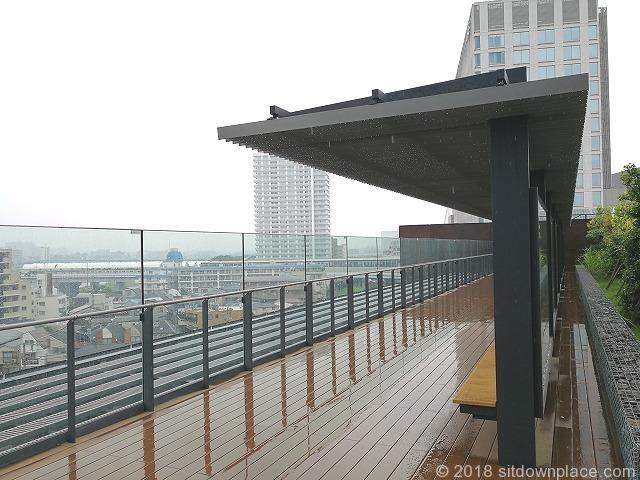 二子玉川ライズルーフガーデン5F原っぱ広場の眺望