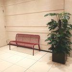 【二子玉川駅】ライズ タウンフロント 東エレベーター前の休憩場所