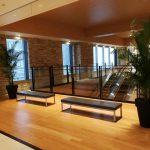 【二子玉川駅】ライズ タウンフロント エスカレーター付近の休憩場所