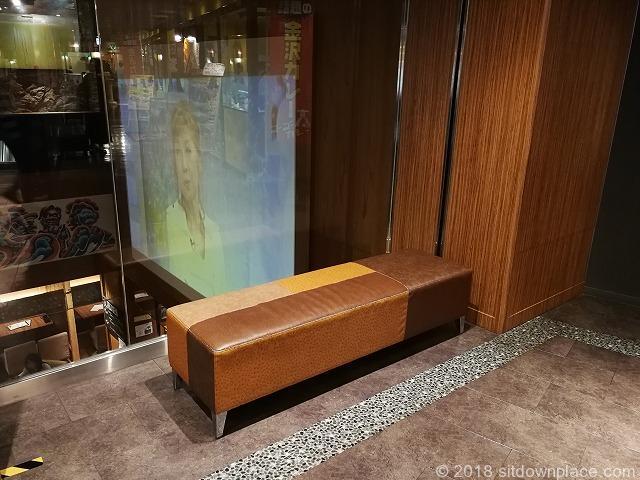 川崎モアーズ8Fのベンチ