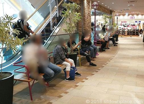 大塚駅アトレヴィ3F・4Fの座れる休憩場所