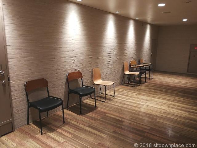 新宿ルミネ1の座れる休憩場所