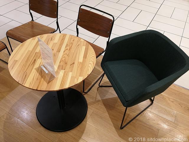 エキュート立川3Fのテーブル席