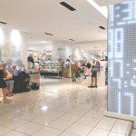 【池袋駅】西武池袋本店B1F 光の時計前の休憩場所
