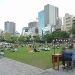 【池袋駅】南池袋公園の休憩場所