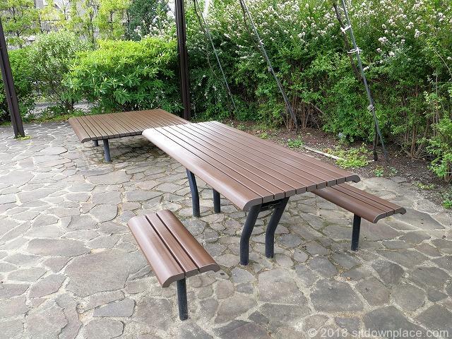 目黒天空庭園のテーブル席詳細
