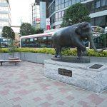 【吉祥寺駅】北口 ゾウのはな子付近の休憩場所