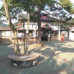 【長瀞駅】駅前広場の休憩場所