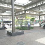 【新座駅】南口駅前広場の休憩場所