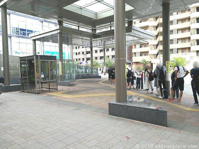 新座駅南口立教大学バス停付近