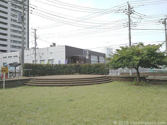 新座駅南口公園の景観