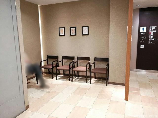 松坂屋2F~5Fの座れる休憩場所