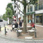 【三軒茶屋駅】駅前通り スターバックス前の休憩場所