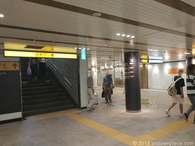 渋谷ちかみち4番出口付近