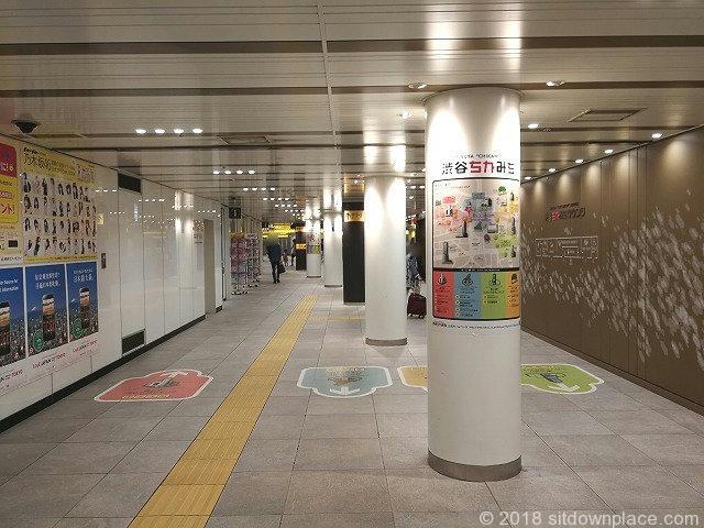 渋谷ちかみちラウンジ付近