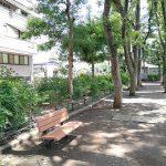 【巣鴨駅】文京宮下公園の休憩場所