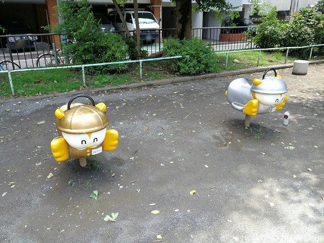 江戸橋公園の遊具