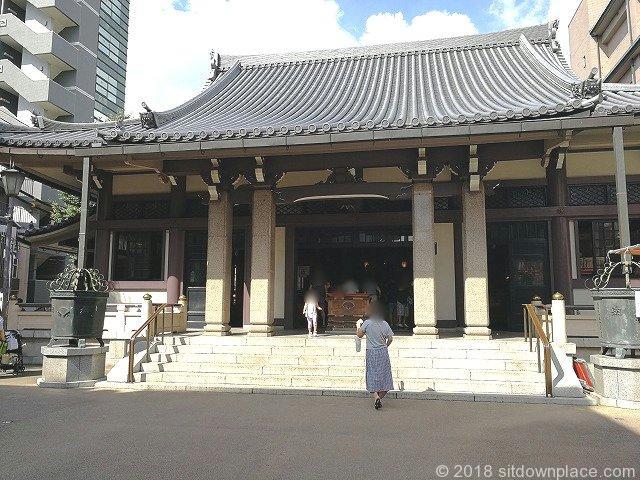 巣鴨高岩寺拝殿