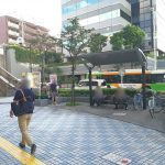 【田端駅】北口駅前の休憩場所