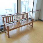 【豊田駅】西友豊田店 階段付近の休憩場所