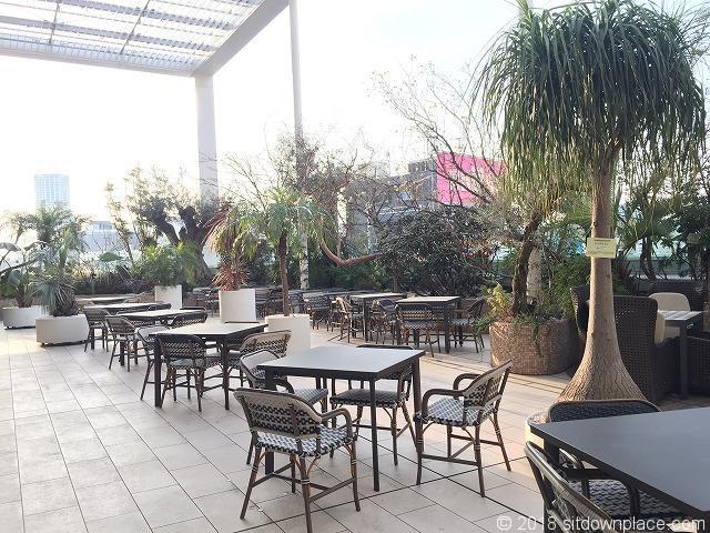 アトレ8F西館空中花園