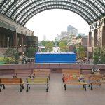 【恵比寿駅】恵比寿ガーデンプレイス センター広場の休憩場所