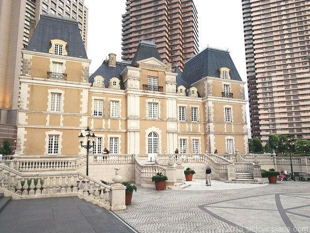 恵比寿ガーデンプレイスシャトーレストランジョエル・ロブションの外観