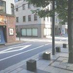 【浜松町駅】浜松町スクエア 公開空地の休憩場所