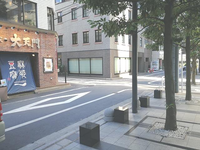 浜松町スクエア公開空地の座れる休憩場所