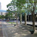 【浜松町駅】交通広場付近の休憩場所