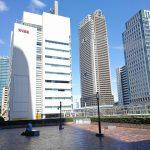 【浜松町駅】世界貿易センタービル 2F デッキの休憩場所