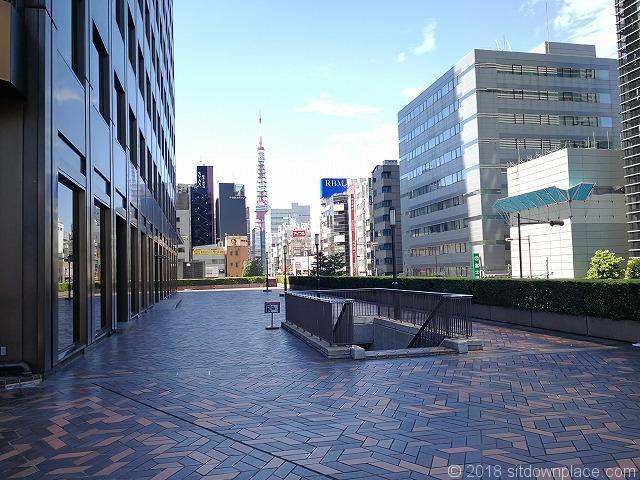 浜松町世界貿易センタービルデッキからの景観