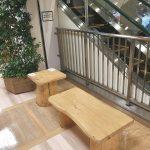 【三鷹駅】アトレヴィ エスカレーター横の休憩場所