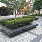 【大宮駅】大宮センタービル 公開空地の休憩場所