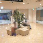【大宮駅】DOM エレベーター前の休憩場所