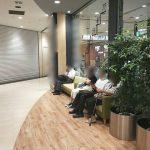 【大宮駅】DOM エスカレーター横の休憩場所